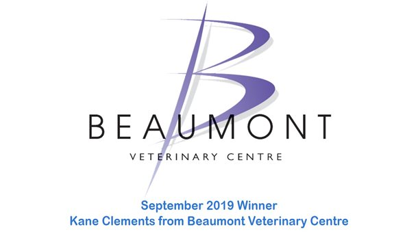 Kane Clements - Beaumont Veterinary Centre - September 2019