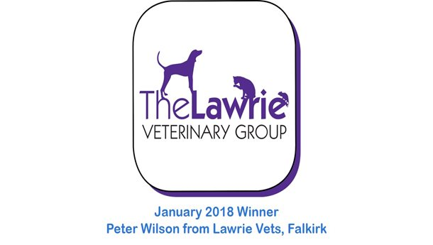 Peter Wilson - Lawrie Vets, Falkirk - January 2018